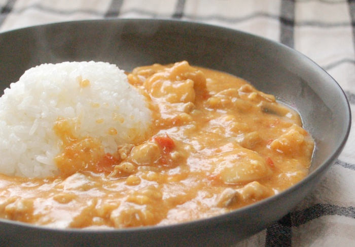 butter chicken style stew by mommyoutnumbered blog