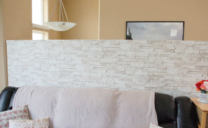 DIY Baby Proofing Safety Railing Wall - Mommyoutnumbered.com - Walpaper 2