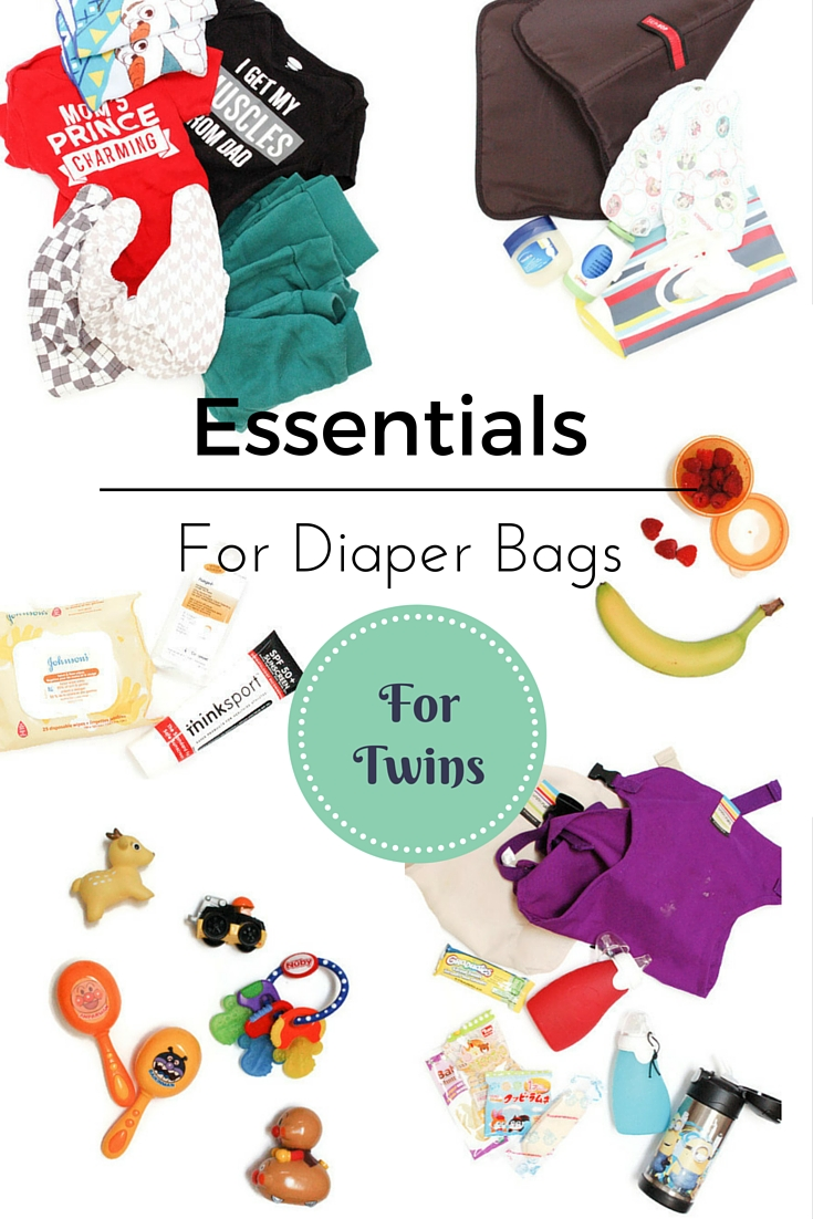 what s in my twins diaper bag mommy outnumbered. Black Bedroom Furniture Sets. Home Design Ideas