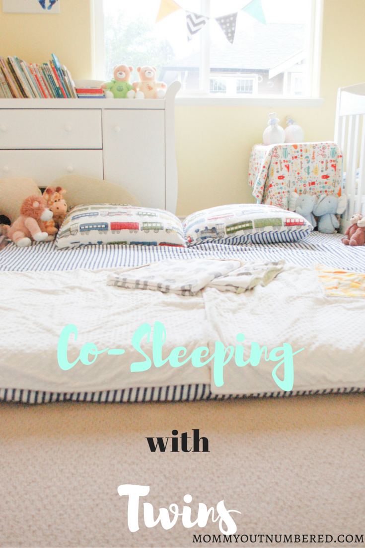 Co Sleeping With Twins Revealing Our Massive Floor Bed Mommy